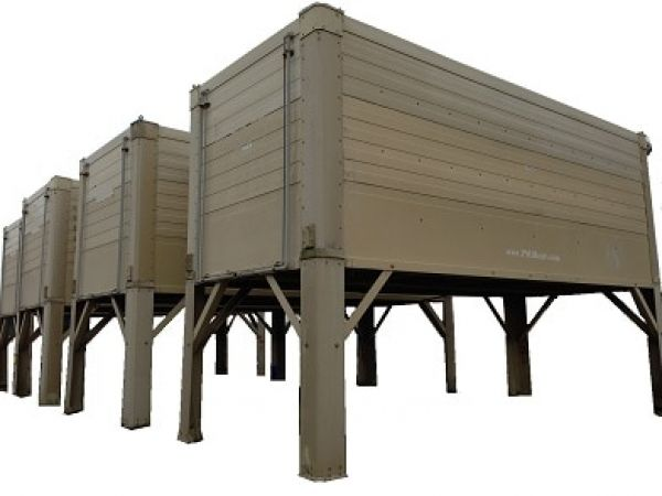 1,000 ton cooling tower module for rent