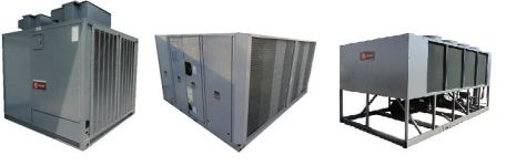 used air cooled chillers