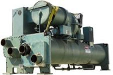 Used water cooled chiller for sale