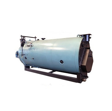 Used 150 HP 3‐Pass Dryback high pressure steam boiler made by York‐Shipley.