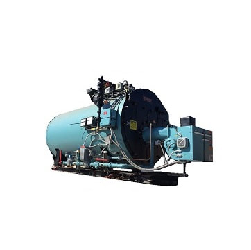 30 HP 3‐Pass Dryback boiler made by Superior.