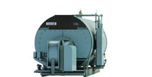 CBL model used Cleaver-Brooks steam boiler