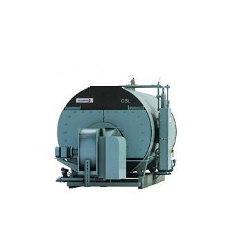 CBL model used Cleaver-Brooks steam boiler