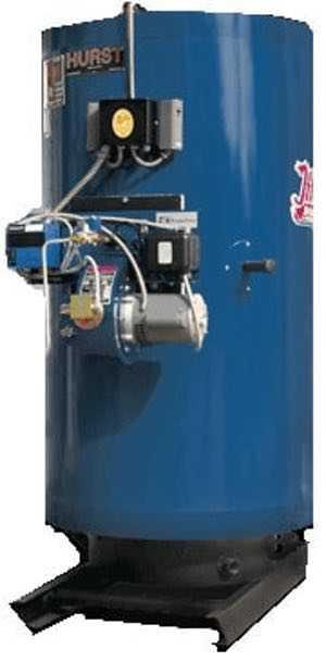 10 HP Hurst Low pressure boiler
