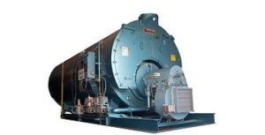 "250 HP 3‐Pass Dryback ""Mohawk"" model boiler, made by Superior."