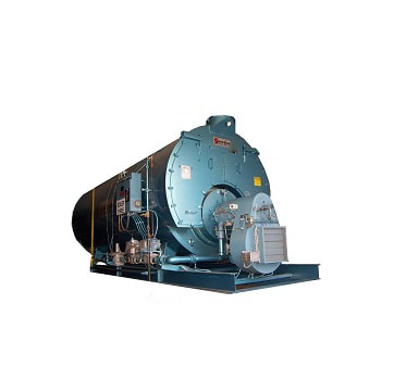 """250 HP 3‐Pass Dryback """"Mohawk"""" model boiler, made by Superior."""