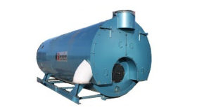 350 HP 125psi Hot Water used boiler originally manufactured by Superior in 2008.