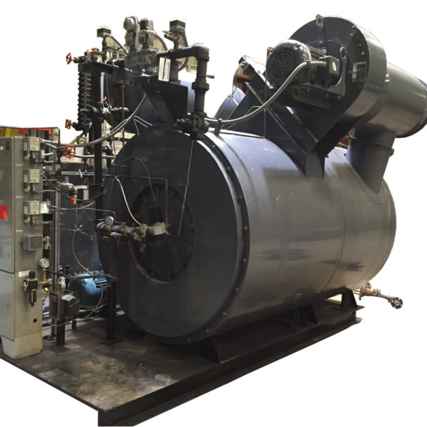 Used 350 HP Watertube Coil boiler made by Vapor Power.